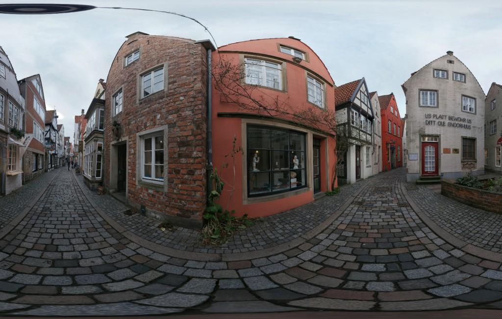 Bremen: Schnoor