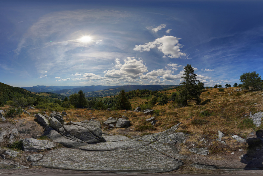 Aussichtspunkt auf dem Hohrodberg [Elsass]
